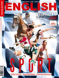English Matters 7/2013 Sport